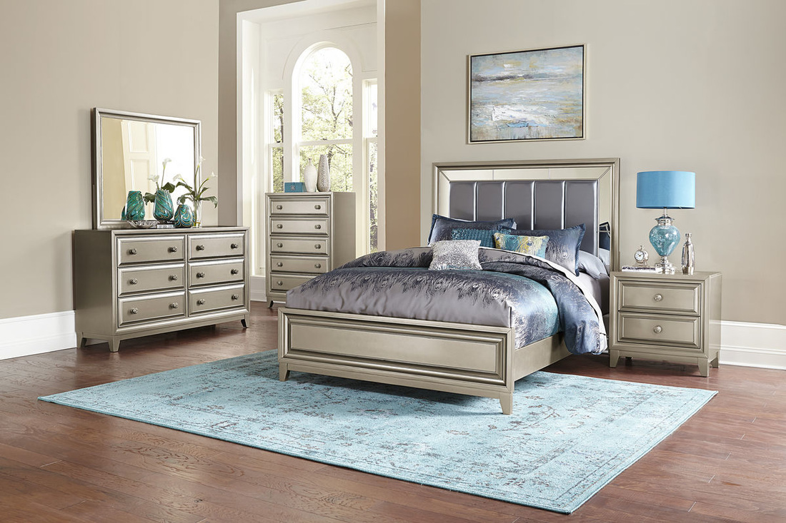 image great mirrored bedroom furniture. Hedy Collection By Homelegance 1839 Image Great Mirrored Bedroom Furniture